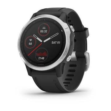 Garmin Fenix 6S Watch - Silver w/Blk