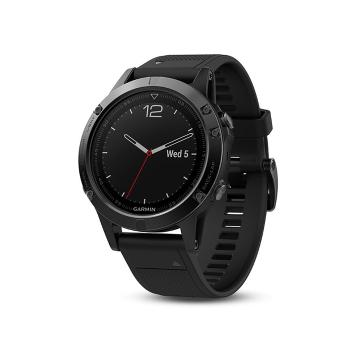 Garmin Black Fenix 5 Sapphire with Black Band