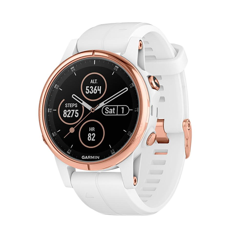 Rose Gold with White Band