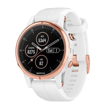 Garmin Rose Gold with White Band