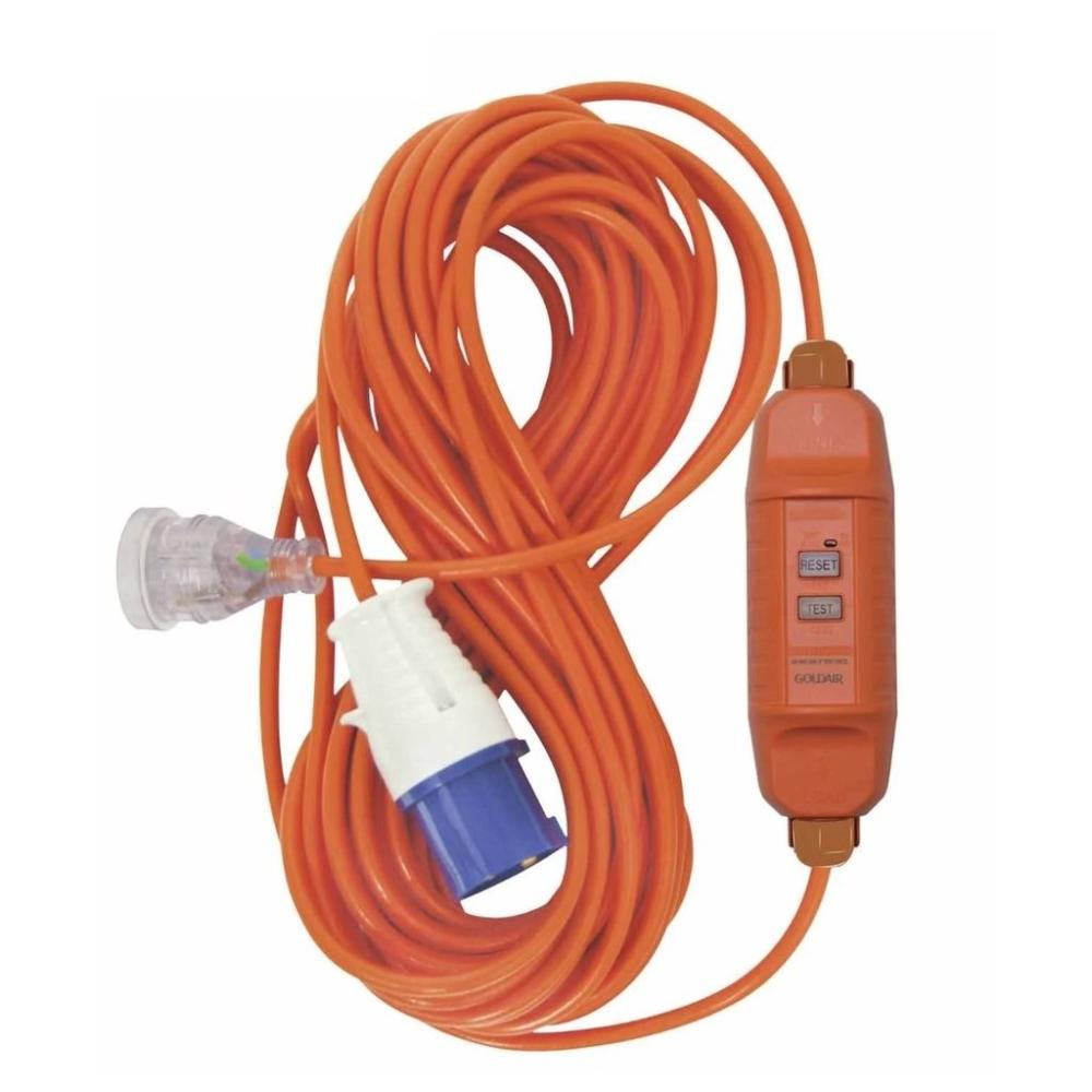Camp Ground Power Lead with RCD