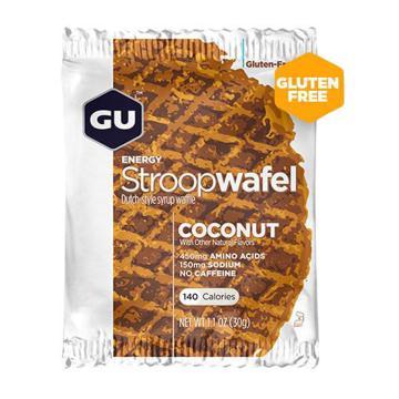 GU Stroopwafel Gluten Free - Single - Coconut