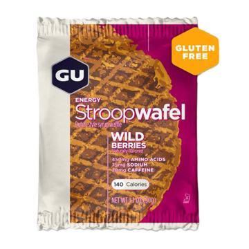 GU Stroopwafel Gluten Free - Single - Wild Berries