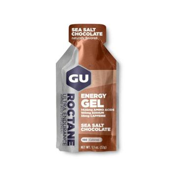 GU Roctane Energy Gel - Single - Sea Salt Chocolate