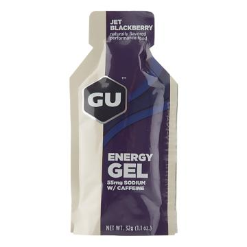 GU Energy Gel - Single - Jet Blackberry