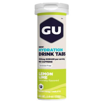 GU Hydration Drink Tablets - Lemon Lime