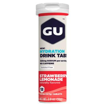 GU Hydration Drink Tablets - Strawberry Lemonade
