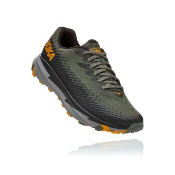 HOKA ONE ONE Torrent 2 Shoes - Thyme/Golden Yellow