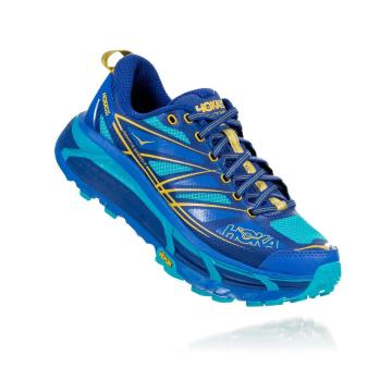 HOKA ONE ONE Women's Mafate Speed 2 Shoes - Palace Blue/Bluebird