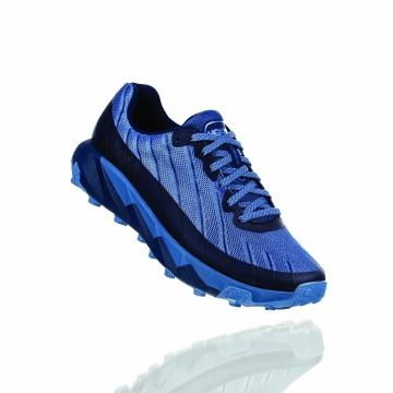 HOKA ONE ONE Women's Torrent Shoes - Black Iris/Moonlight Blue