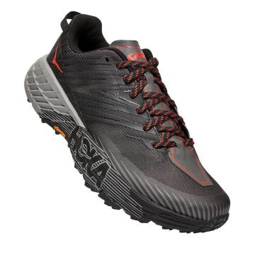 HOKA ONE ONE Men's Speedgoat 4 - Dark Gull Grey /Anthracite