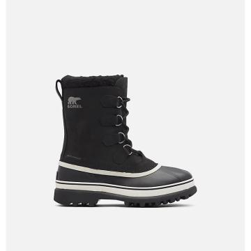 Sorel Men's Caribou Boots - Black/Stone
