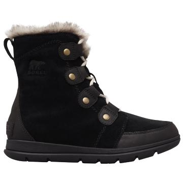 Sorel Women's Explorer Joan Boots - Black Dark Stone