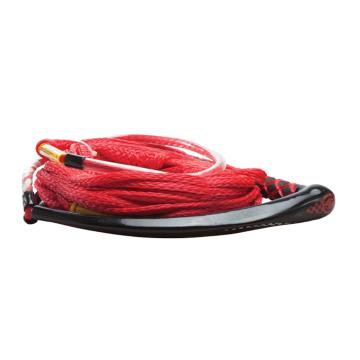 Hyperlite Apex PE EVA Handle with 4 Section PE Line - Red