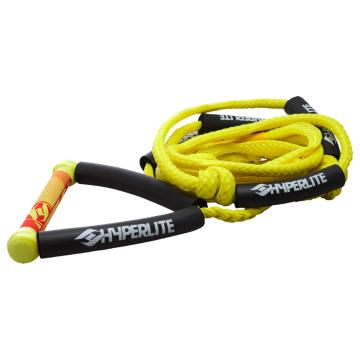 Hyperlite 20ft Surf Rope with Yellow Handle