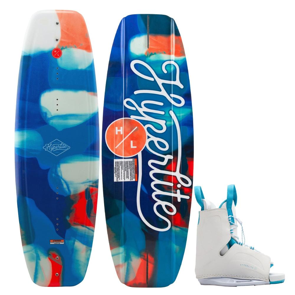 2021 Women's Divine Wakeoard with Allure Boots Combo 134cm