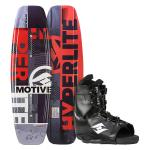 Hyperlite Motive Wakeboard + Frequency Boot
