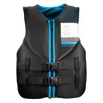 Hyperlite Men's Neoprene PFD3 Vest - Black/Blue