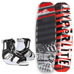 Hyperlite Wakeboard and Bindings Combo