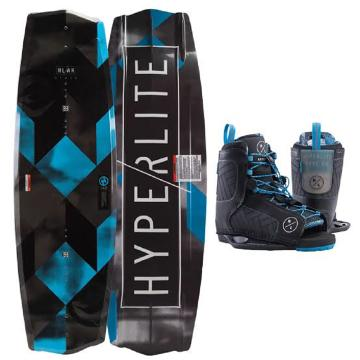 Hyperlite 2019 State 145 Wakeboard + Remix Blue Boots Package