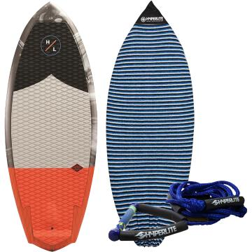 "Hyperlite 4'7"" Shim with Surf Rope + Sock"
