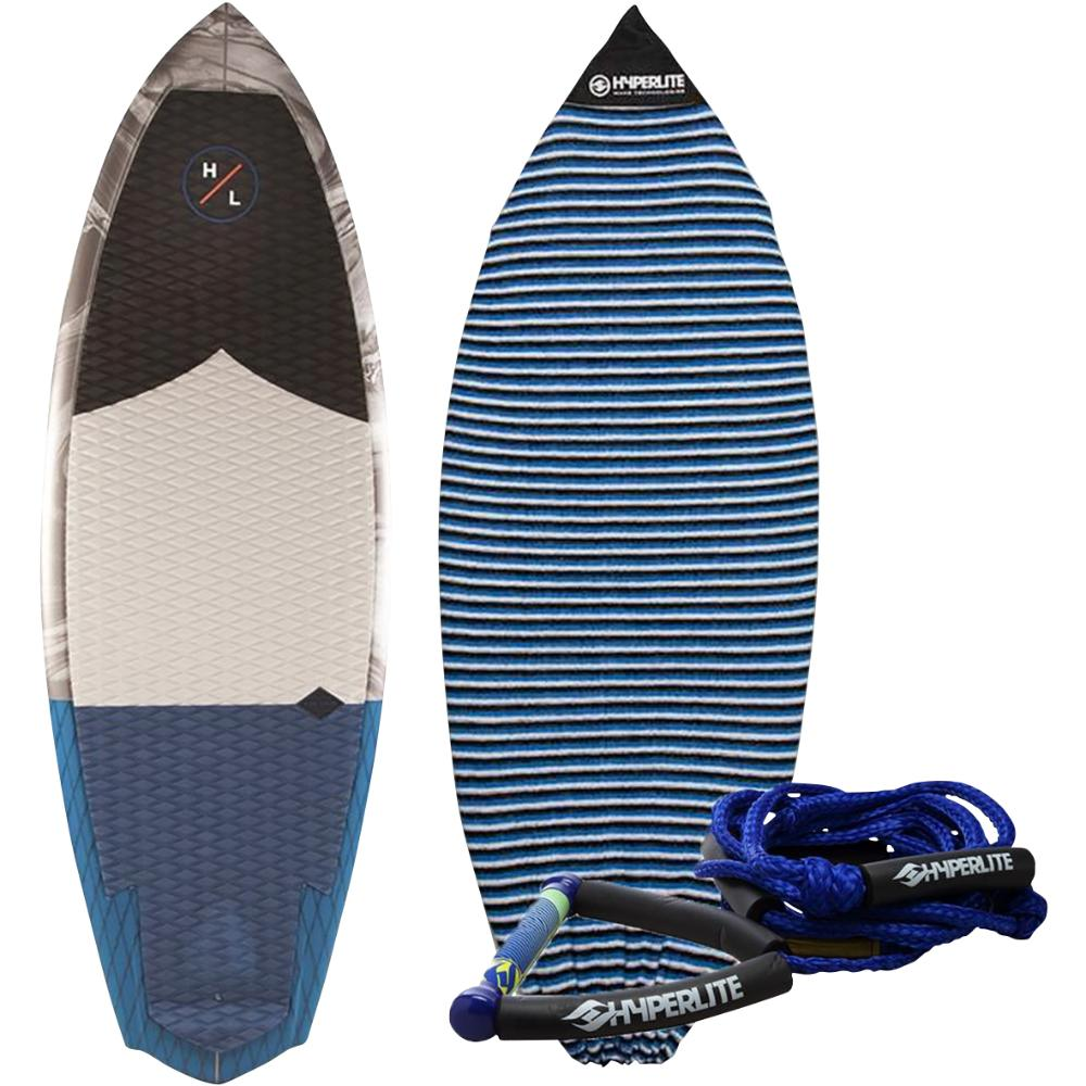 "2019 5'3"" Shim with Surf Rope + Sock"
