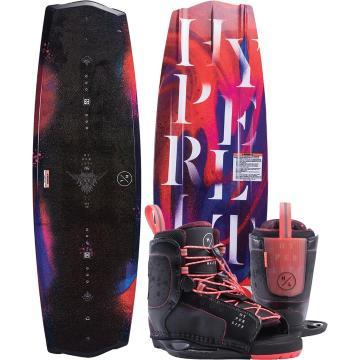 Hyperlite Eden 135 Wakeboard + Jinx Boots Package
