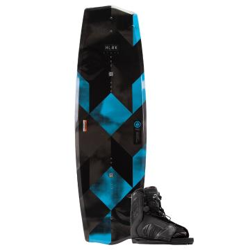 Hyperlite 2019 State 135 Wakeboard w/Remix Boot - Black