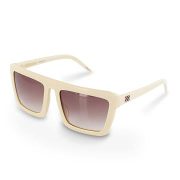 Sabre Ceremony Ltd Sunglasses - Bone White/Bronze Gradient - Bone White/Bronze