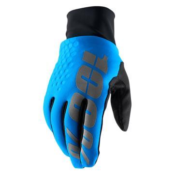 Ride 100% Hydromatic Waterproof Brisker Glove - Cyan