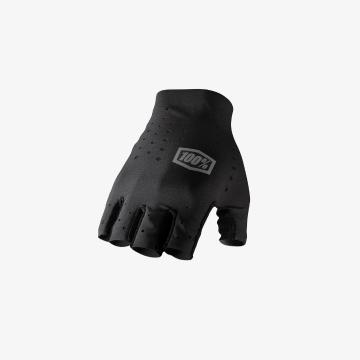 Ride 100% Sling Short Finger Gloves -  Black