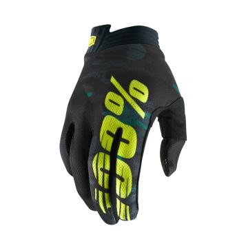 Ride 100% Airmatic Gloves Youth - Yellow/Black