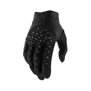 Ride 100% Airmatic Gloves Youth - Black/Charcoal
