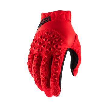Ride 100% Airmatic Gloves Youth - Red/Black