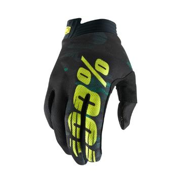 Ride 100% iTrack Gloves Youth - Camo