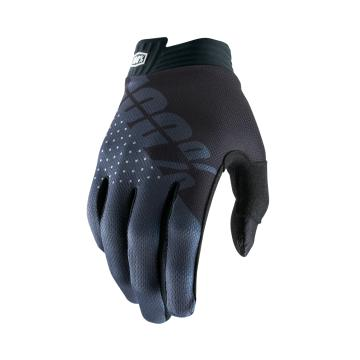 Ride 100% iTrack Gloves Youth - Black/Charcoal