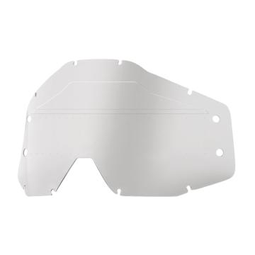 Ride 100% Forecast Replacement Lens - Sonic Bumps - Clear