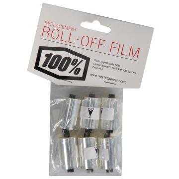 Ride 100% Roll Off Film Canisters - 6 Rolls