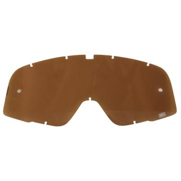 Ride 100% Barstow Lens - w/Tear Off Pins - Bronze
