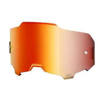 Ride 100% Armega Goggles Replacement Lens - Red Mirror