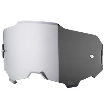 Ride 100% Armega Goggles Replacement Lens - Silver Mirror
