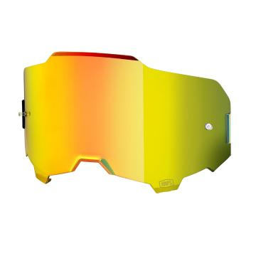 Ride 100% Armega Goggles Replacement Lens - Gold Mirror
