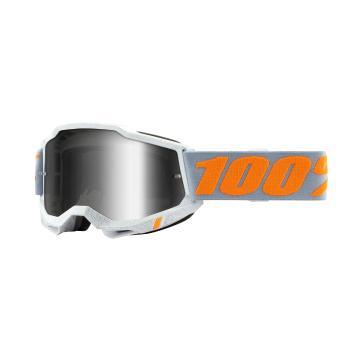 Ride 100% ACCURI 2 Goggles - Speedco/Mirror Silver Lens