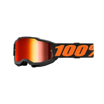 Ride 100% ACCURI 2 Youth Goggles - Chicago/Mirror Red Lens