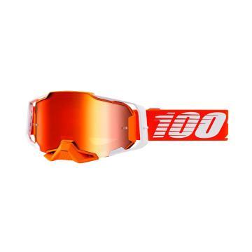 Ride 100% ARMEGA Goggles - Regal/Mirror Red Lens