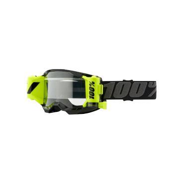 Ride 100% STRATA 2 FORECAST Goggles - Black/Clear Lens