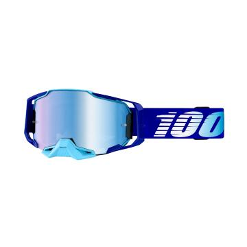 Ride 100% Armega Moto Goggles - Royal/Blue Mirror Lens - Royal/Blue Mirror Lens