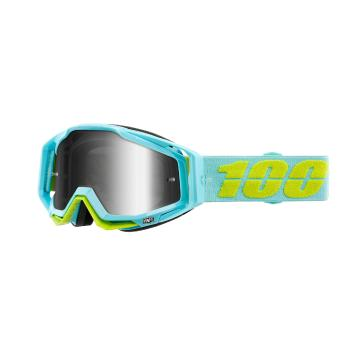 Ride 100% Racecraft Moto Goggles - Pinacles/Mirror Silver Lens