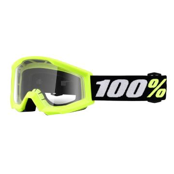 Ride 100% Strata Mini Goggles - Yellow Clear Lens
