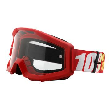 Ride 100% 2018 Strata Goggles - Furnace/Clear Lens